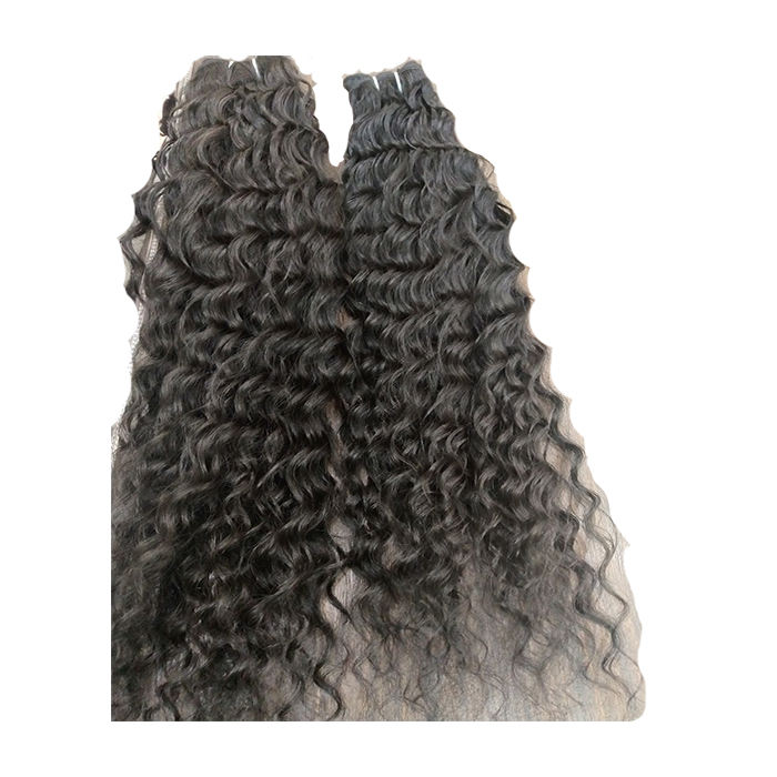 JERRY CURL WEAVE EXTENSIONS HUMAN HAIR,VIRGIN HUMAN HAIR,100%HUMAN INDIAN HAIR SUPPLIER