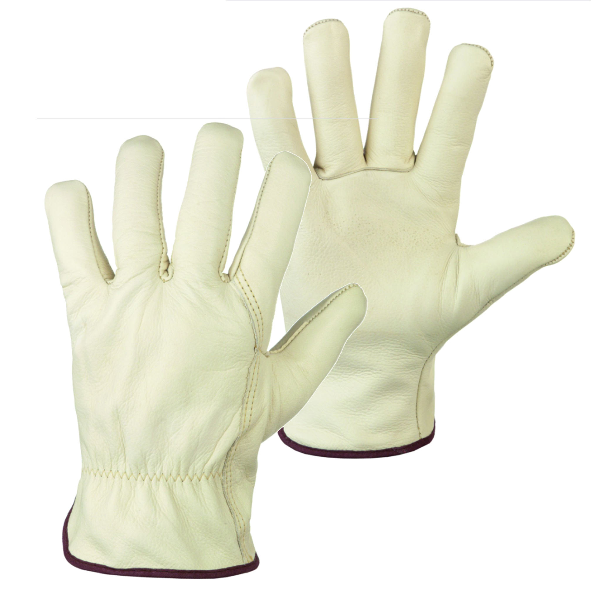 Standard Grain Leather Drivers work gloves / Work welding gloves / working drivers gloves made of grain leather,sizes M,L,XL,2XL