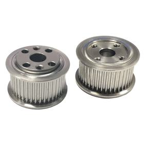 Factory manufacture cnc machining custom teeth 303 304 316 stainless steel aluminum GT2 timing belt pulley