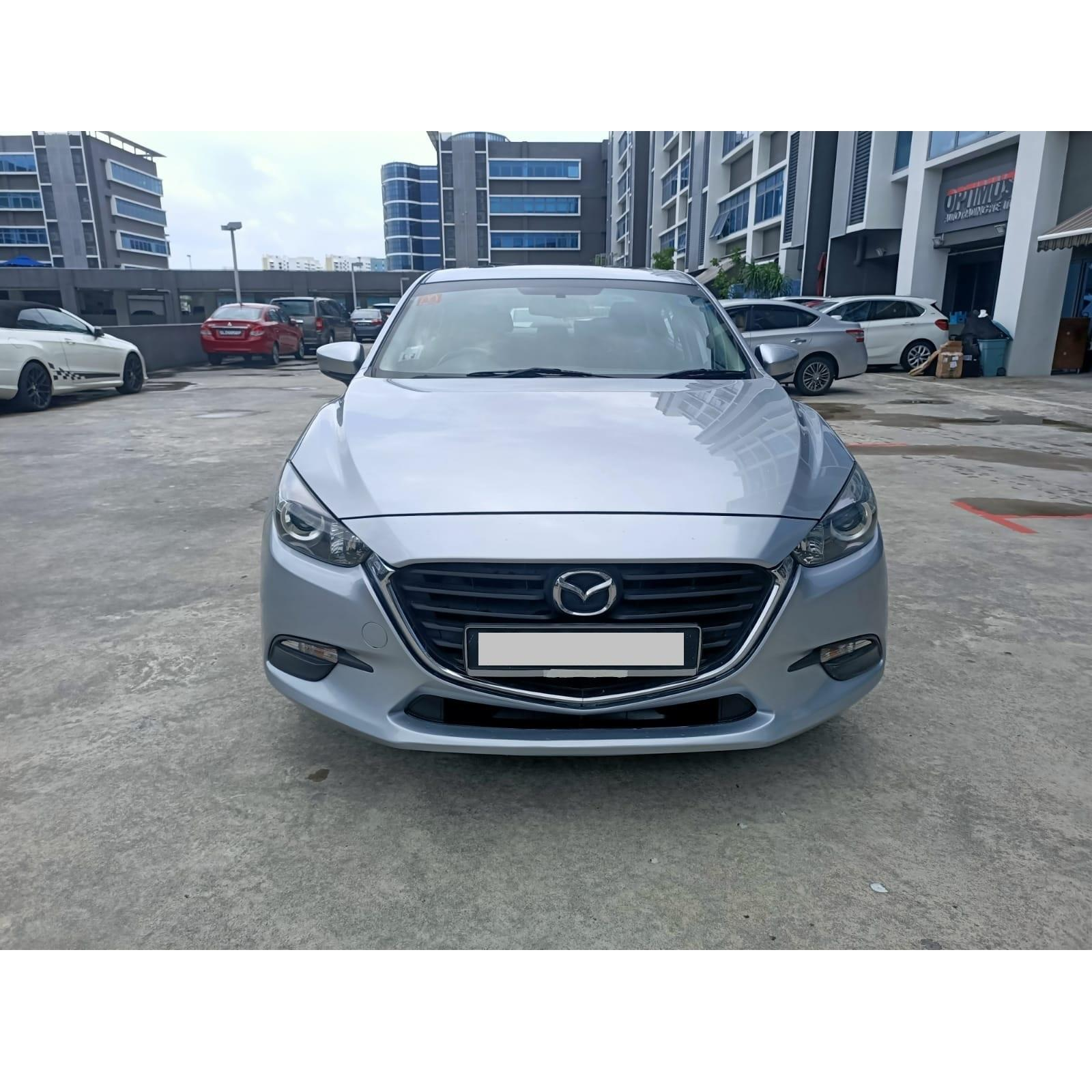 High Quality Automatic Used Car MAZDA 3 Best Price With Mileage 28500km From Singapore