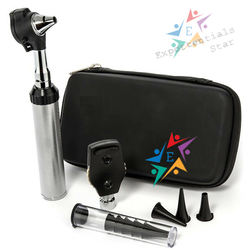 Mini Ophthalmoscope/Otoscope Diagnostic Set, Bright & Whitest LED illumination