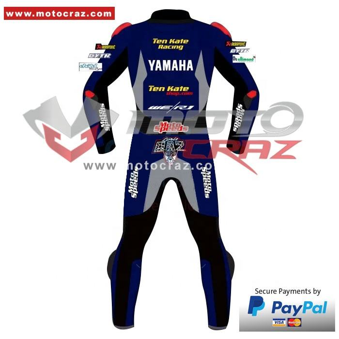 Customize Motorcycle Suit, Loris Baz Yamaha MotoGP Repsol Motorcycle Leather Suit, Loris Baz MotoGP 2020 Leather Racing Suit