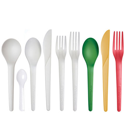 Recyclable dining utensils - Eco-friendly Compostable & Biodegradable Utensils