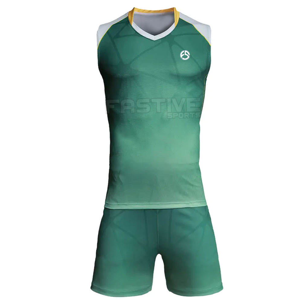 Factory Direct Sale Excellent Quality Men Volleyball Uniforms 2020 High Quality Custom Cheap Volleyball Uniform Designs For Men