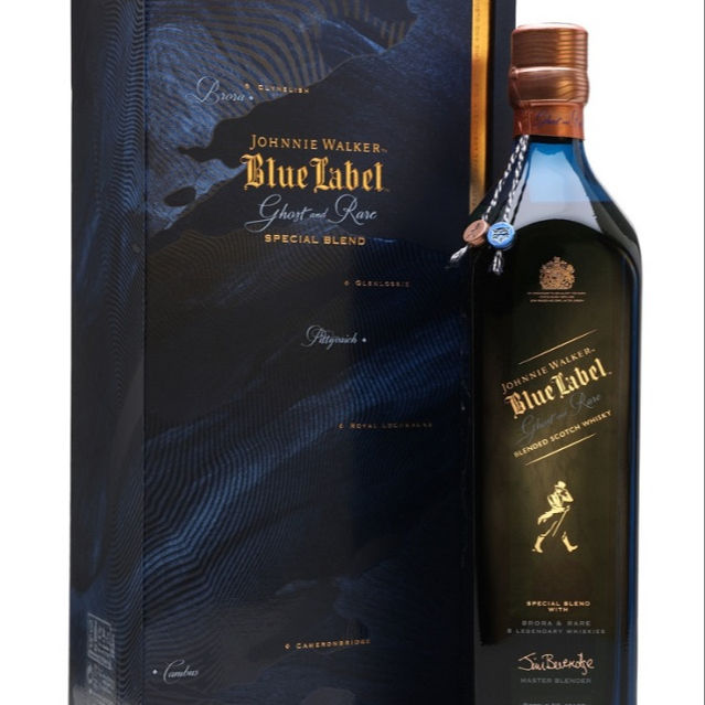 Johnie Walker Étiquette Bleue