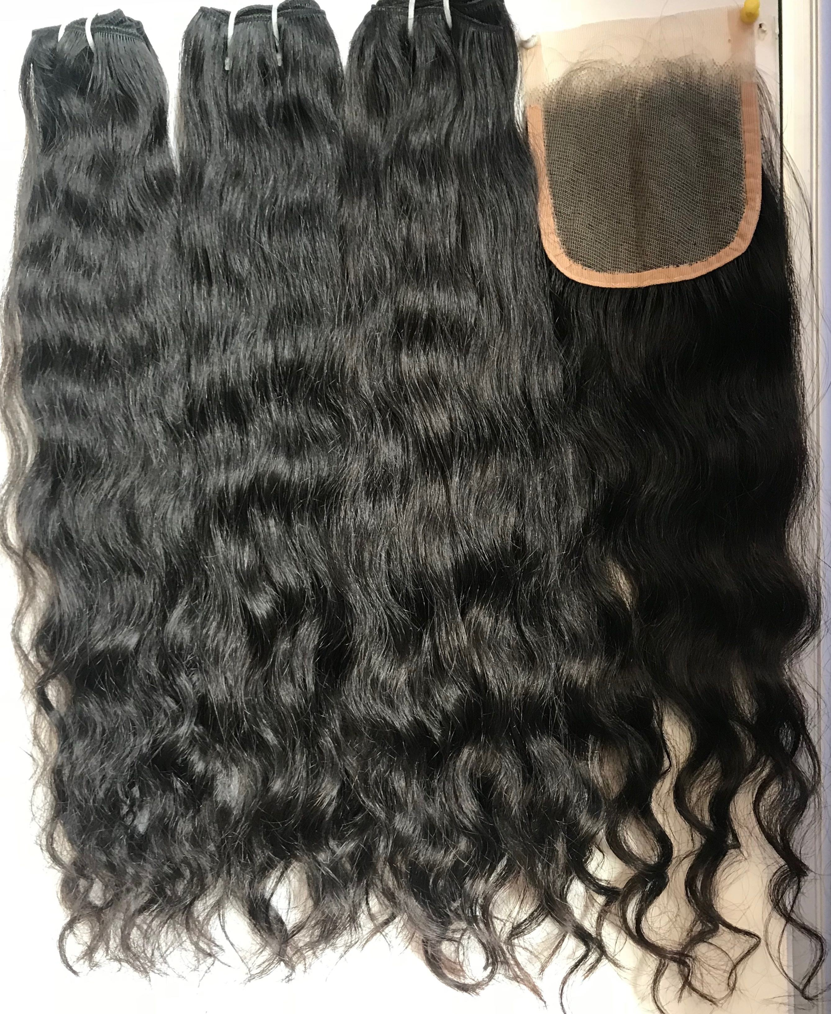 Brazilian Hair Extensions, Indian Temple Hair Extension