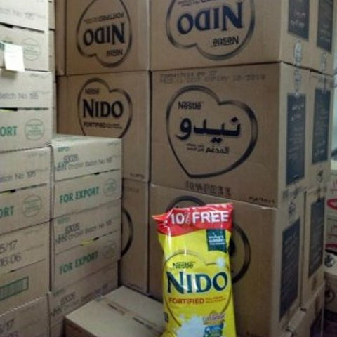 Nido Powder 2500g Tin/ Pouch Arabic text **