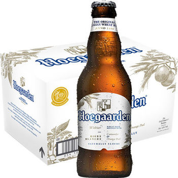 Original Hoegaarden White Beer 4.9% 24 x 330 ml