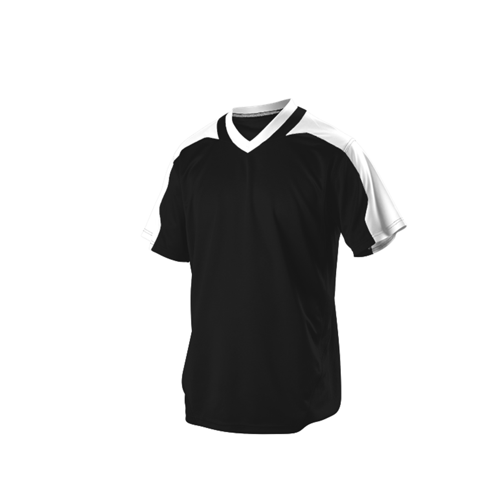 Customized Logo Base ball uniform in Black Color Sports Wears For Men