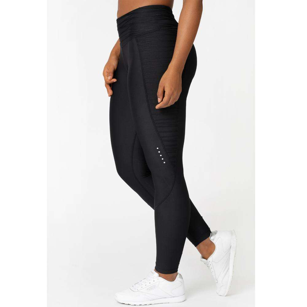 sportswear customize quick dry 4 way stretch fitness high waist full length yoga leggings for women