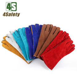 4SAFETY Weld Leather protective safety glove for Welding