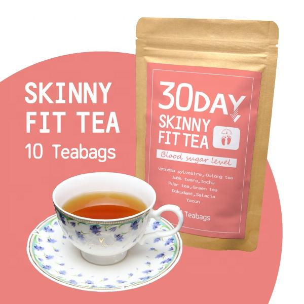 Oem possible private label slimming tea herbal weight loss detox health & medical green tea product made inJapan 10 teabags