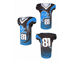 Fully Sublimation Customized American Football Uniform