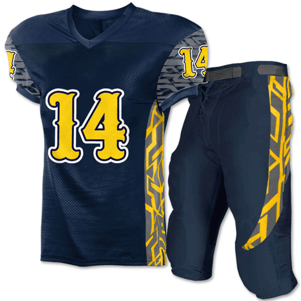 Best American Football Jersey Design Custom Sublimation American Football Uniforms