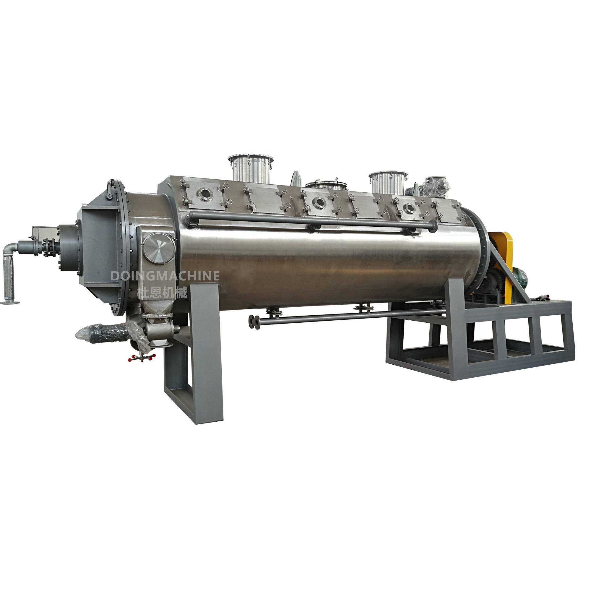PZG series rotary vacuum paddle dryer
