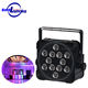 Wholesale flat led par 12*18W rgbawuv wireless DMX battery powered event uplight