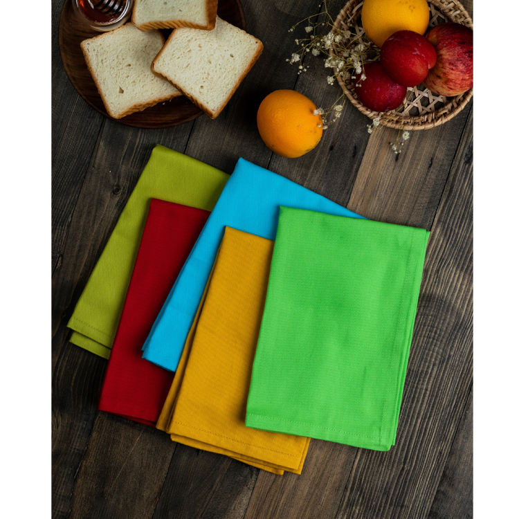 Wholesale Custom Elegant Washable Linen Napkin for Dinner Table