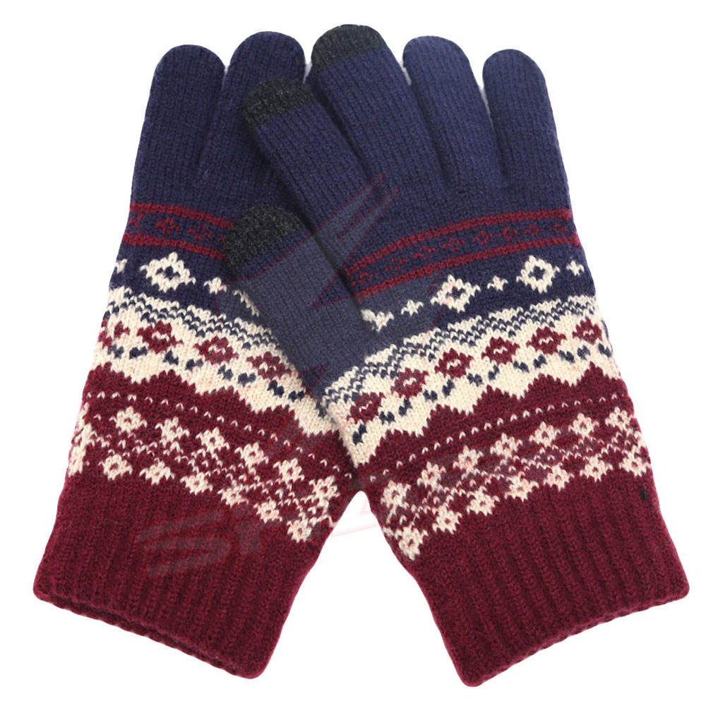 100% Wool Winter Gloves In Reasonable Price Outdoor Cold Winter Weather Waterproof Winter Gloves