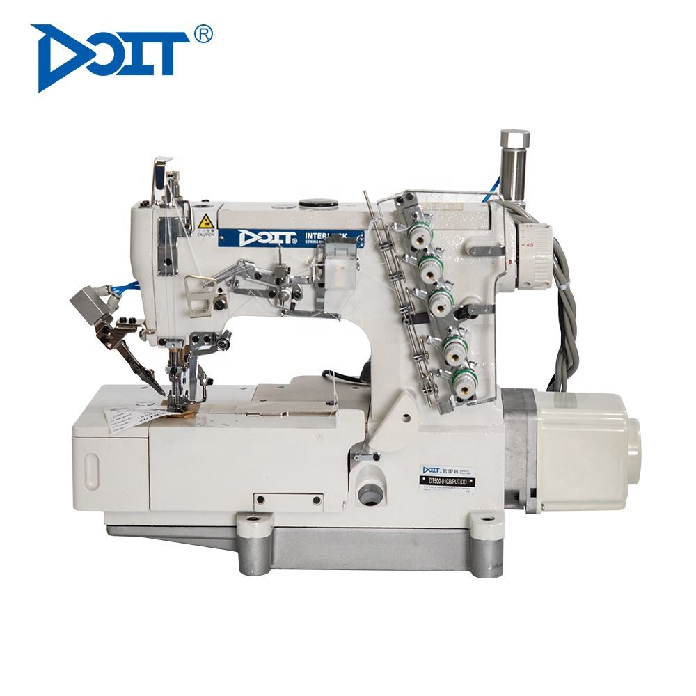 DT500-01CB High quality high speed interlock sewing machine motor power consumption industrial sewing machine