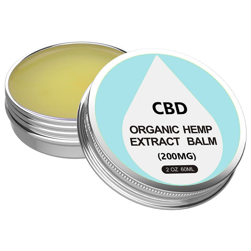 Organic CBD Balm Healing Ointment Salve 200mg for Muscle Pain Relief Unbranded Ready to Ship from California Made in USA