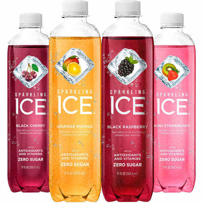 Sparkling ICE Bottle Sparkling Water USA American Flavored Bottled Water Bulk