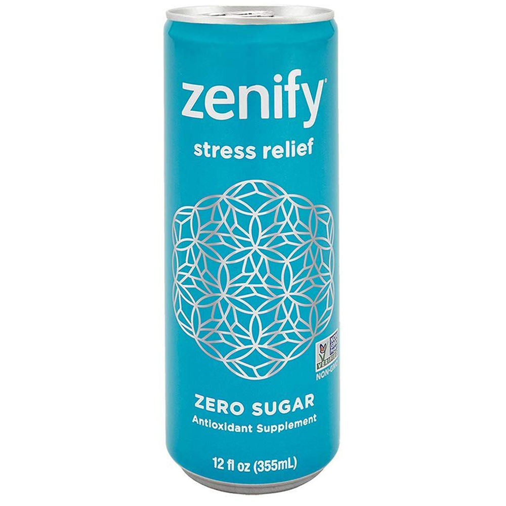 Zenify Zero Sugar, vitamins, creativity, healthy, relax, non gmo, mood, (Pack of 12)