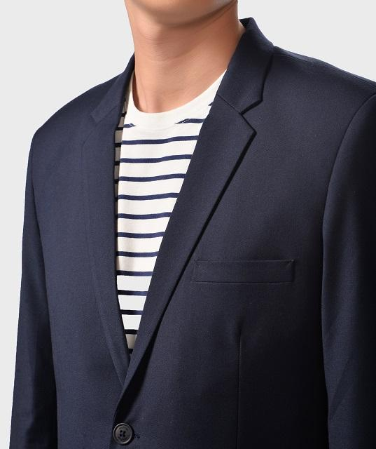 Wholesale Men's high quality plain two layers Suits Routine brand (Model: AV1178018)
