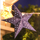 Hanging Paper Garland Handmade Hanging Paper Star Light Garland Party Decoration