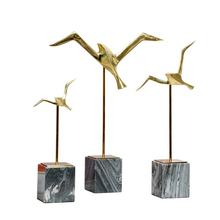 New Chinese style originality desktop bird furnishing articles, contracted soft decoration accessories