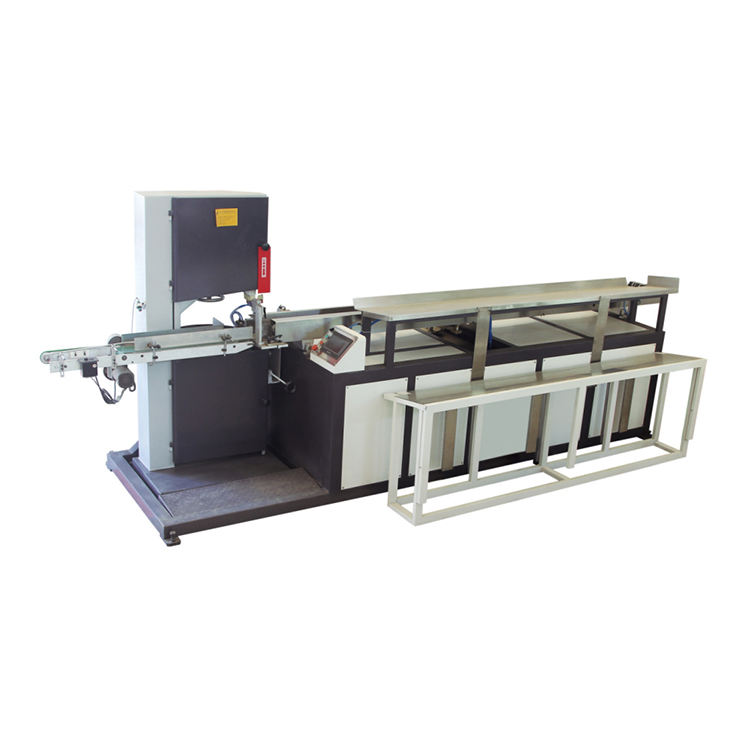 High quality small automatic toilet paper band saw cutting machine