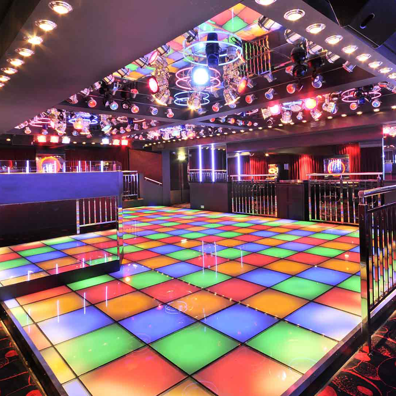 Promotional break-proof easy clean led dance floor