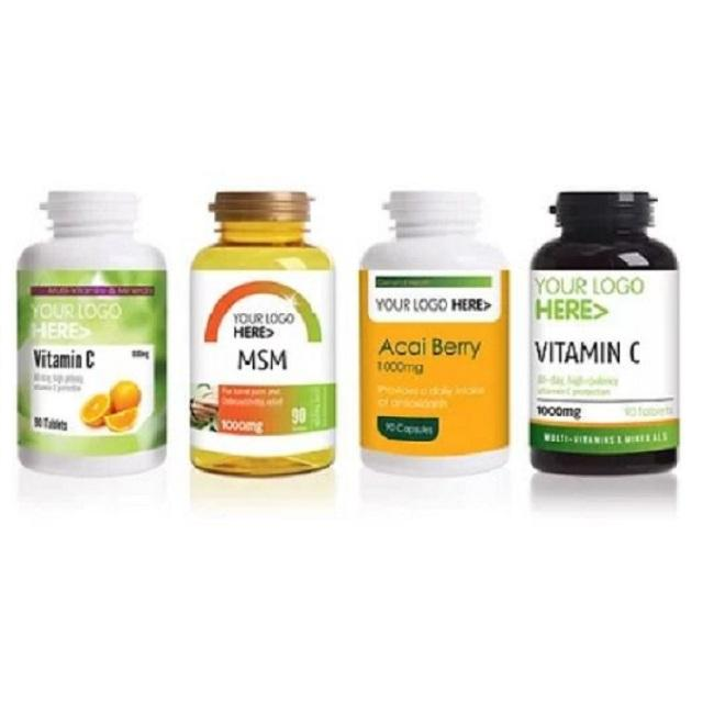 Private Label Vitamins & Supplements Powders