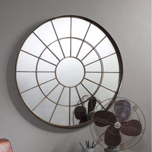 ROUND Designer Wall Mirror for home, office and hotel Decoration