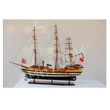 AMERIGO VESPUCCI L80 - Vietnam High Quality Wooden Model Tall Ship/ Nautical Handcraft/ Luxury Office And Home Decor