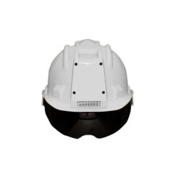 Best Quality Air-Conditioned Safety Helmet for Technicians/Labour |Tinted Visor|Cooling & Heating Feature|