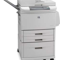 M9050 LASERJET MULTIFUNCTION BLACK AND WHITE MONOCHROME COPIERS USED PRINTER SCANNER
