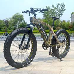 Discount New arrival electric motorized bike 48V 750W Fat electric bike