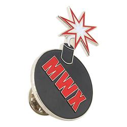Customized Bomb Blasts Design Soft Enamel Lapel Pins