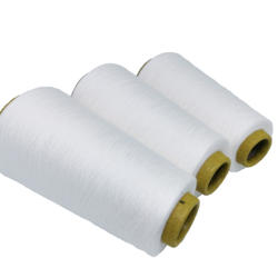 Hot Selling White 24/1 100% Rayon Vortex Yarn For Knitting Contamination Free
