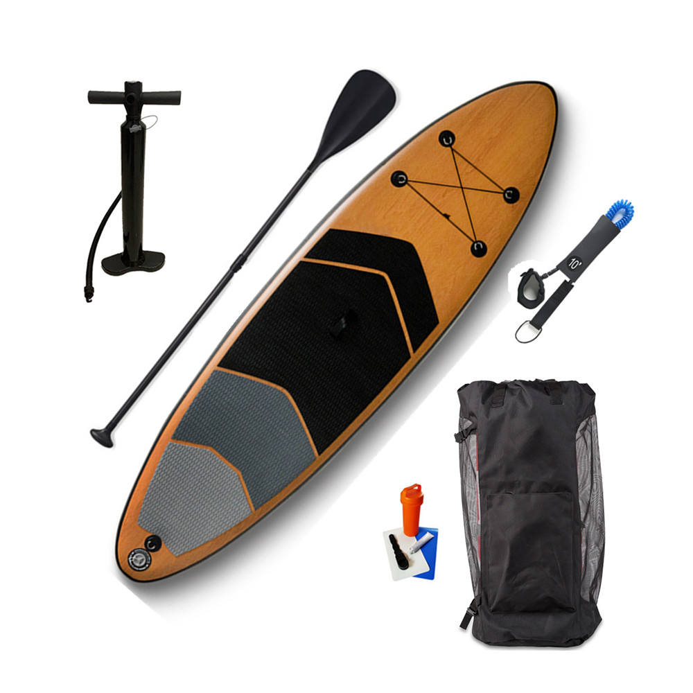 Best Quality Lightweight OEM Sup Paddle Board Bamboo Paddleboard