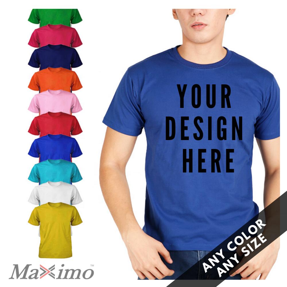 High Quality Custom Screen Printed T shirt Made in Bangladesh