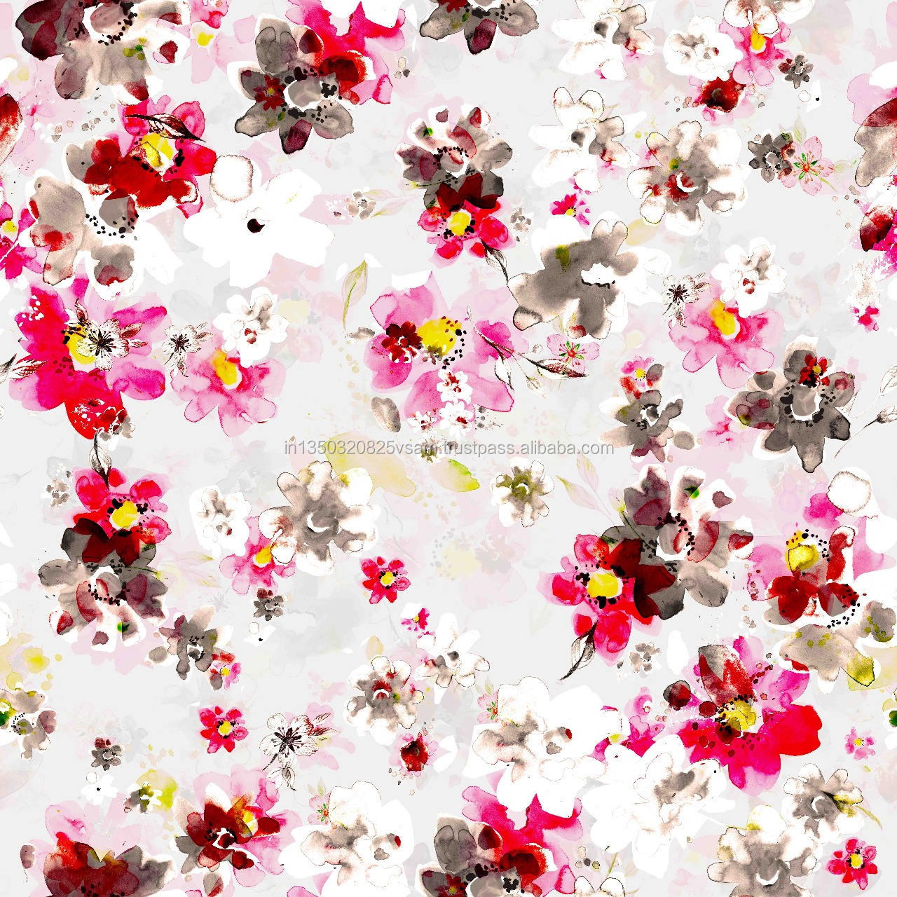 best 2019 digital printed chiffon fabric for home textile