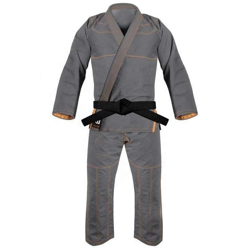 Men Professional Martial Art Uniform Brazilian Jiu Jitsu Gi Pearl Gold Honey Comb Weave Bjj Kimonos Mma Strong Knees area