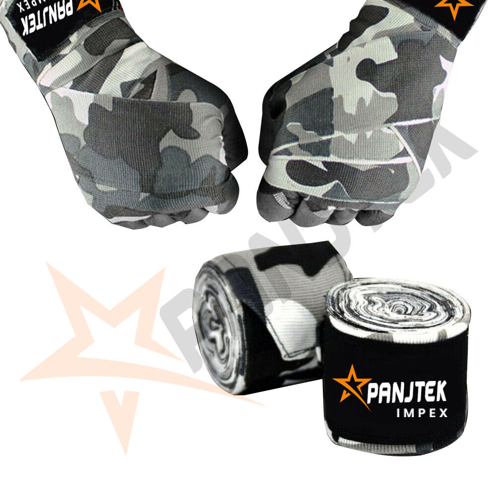 Hand Wraps Mexican Bandages Boxing Inner Punching Gloves Muay Thai MMA Camo