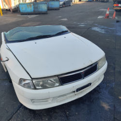 Used Mitsubishi Lancer Front Half Cut with rear suspension