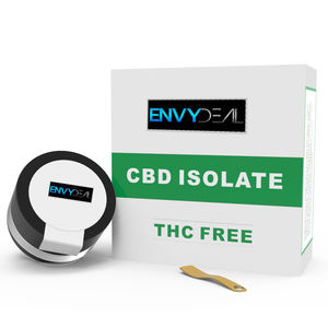 CBD Isolate 99.9% Herbal Extract Powder from Leaf Parts from Colorado THC-Free Ready to Ship as White Label