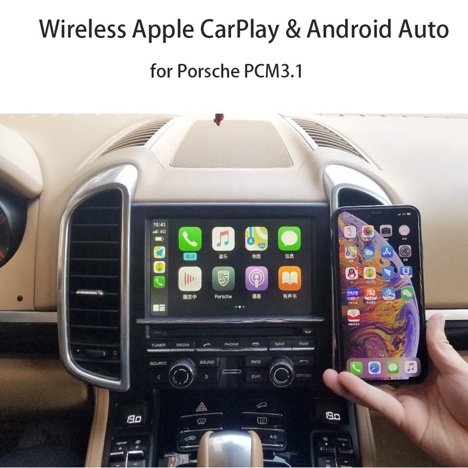 OEM Carplay Module AirPlay For Porsche PCM3.1 Panamera Macan Cayenne Apple CarPlay Android Auto Link Video Interface