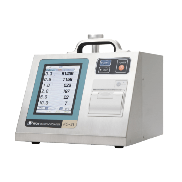 Air Airborne Particle Counter KC-31 as BCR Air Quality Measurement Pollution Device Testing Machine