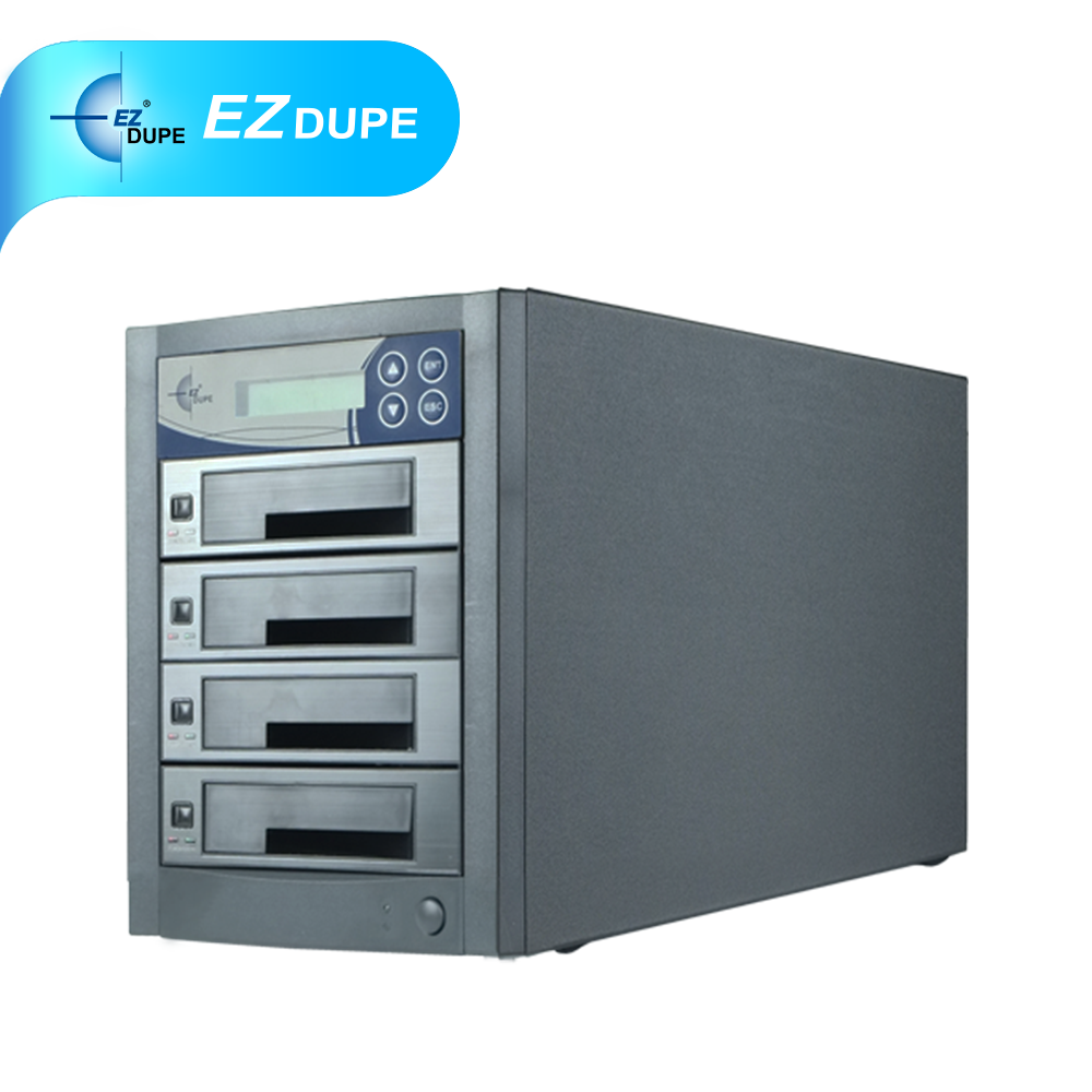 **300MB/s** 3 targets Tower SSD & HDD Duplicator_EZ Dupe