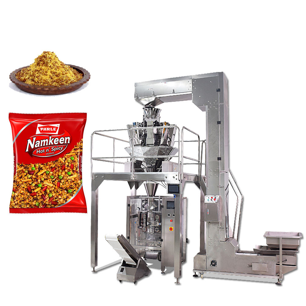 Automatic Namkeen Pouch Packing Machine Price